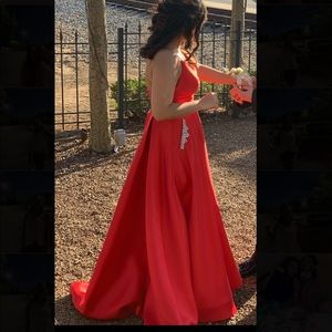 Sherri Hill Dresses - Red Sherri Hill Prom Dress